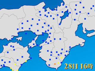 天気 予報 大阪 アメダス