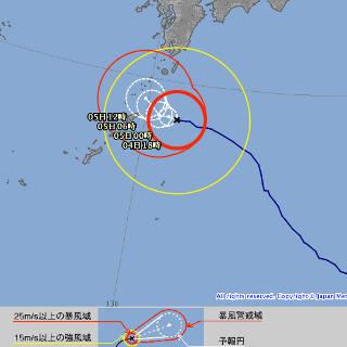 デジタル台風:台風201705号 (NORU) - 総合情報( …